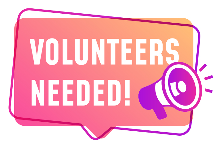 Volunteers Required